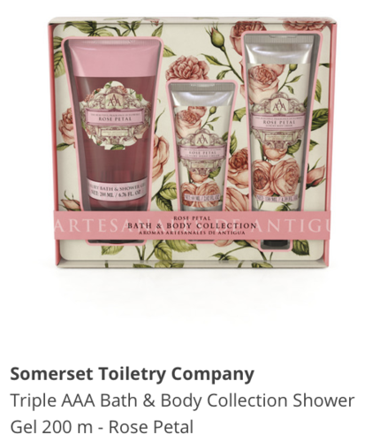 Somerset Toiletry Company Tripple AAA Bath & Body Collection